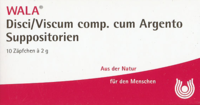 DISCI/Viscum comp.cum Argento Suppositorien