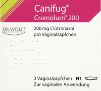 CANIFUG Cremolum 200 Vaginalsuppositorien